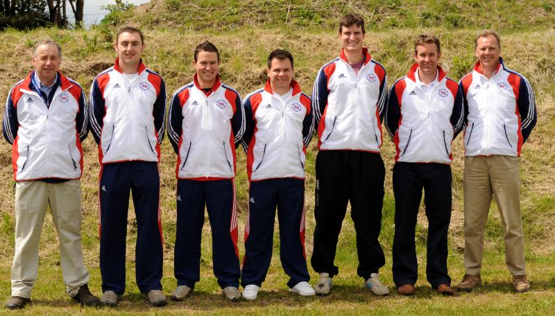 World Cup 2010 - GB Double Trap Team
